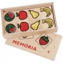 Fa memória játék: Gyümölcsök (32 db)
