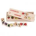 Fa dominó játék: Gyümölcsök (28 db)