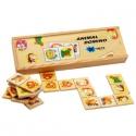 Fa dominó játék: Állatok (28 db)