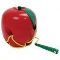 Fűzőcske színes alma  - fajáték