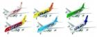 Fém model repülő, lendkerekes, fénnyel és hanggal