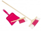Takarítós játék készlet, rózsaszín