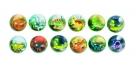 3D labda - dinoszaurusz GOKI