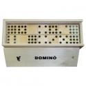 Fa dominó játék: Klasszikus (55 db)