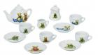 Játék porcelán teáskészlet (macis)