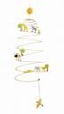 Függő figurák - szavanna spirál - GOKI fajáték