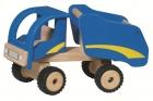 Billenőplatós teherautó - kék   - GOKI fajáték