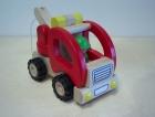 Vontató autó - GOKI fajáték