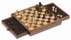 Fa mágneses sakk készlet fiókos dobozban - GOKI fajáték
