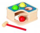 Kalapálós golyós játék és golyópálya