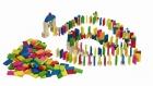 Fa dominó pálya kreatív építőjáték készlet (247 db)