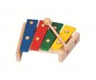 Fa xilofon, 4 hangú - GOKI fajáték