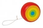 Fa yo-yo szivárvány  GOKI fajáték