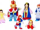Fa baba család 6 tagú, királyi palotához