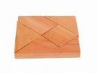 Fa ügyességi játék - négyzet - GOKI fajáték