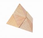 Fa ügyességi játék - piramis - GOKI fajáték