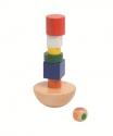 Egyensúlyozós játék - torony - GOKI fajáték