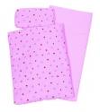 Játék ágynemű garnitúra játék babaágyhoz, rózsaszín