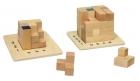 Kreatív fa kirakó: Braun-féle kocka