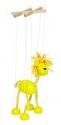 Fa marionett báb bábfigura - oroszlán