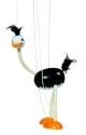 Fa marionett báb bábfigura - strucc