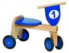 Fabicikli-motor 4 kerekű, lábbal hajtós (kék)