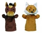 Plüss kesztyűbáb bábfigura - Arino ló