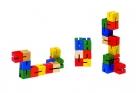 Fa puzzle 12 db-os damilos fa kirakó: Kígyó