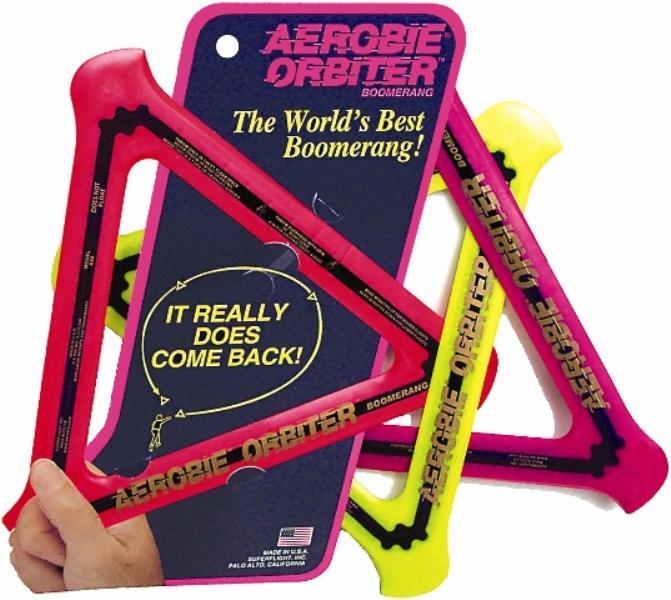 Aerobie Orbiter háromszögű bumeráng