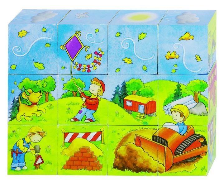 Mesekocka 4x3-as képkirakó kocka: Az én kis világom
