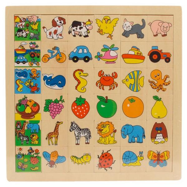 Fa puzzle képkereső (kutyás)